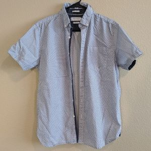 Men's slim fit medium Denim & Flower button shirt